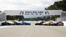 Bugatti track day at the Paul Ricard Circuit 05.6.2013