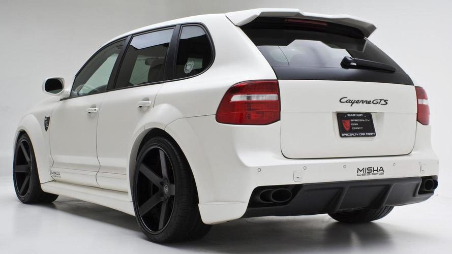 Porsche Cayenne receives wide body kit from Misha Designs