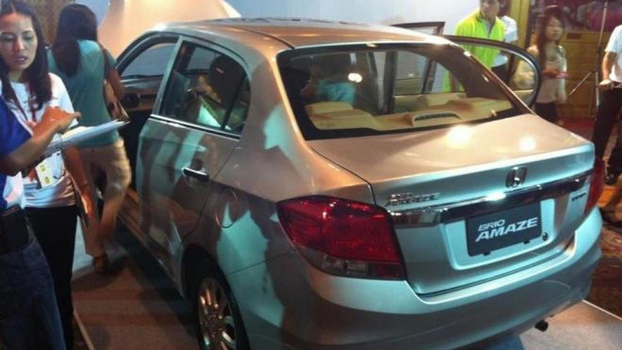 Honda Brio Amaze officially revealed [video]