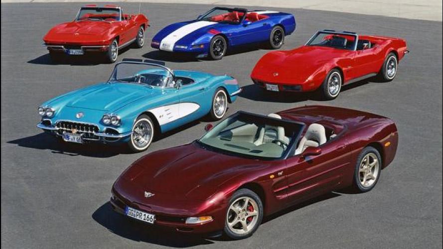 """Corvette, il """"batticuore"""" d'America"""