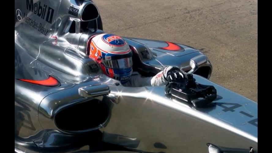 Un car wash con Jenson Button, geniale candid camera di Mobil 1