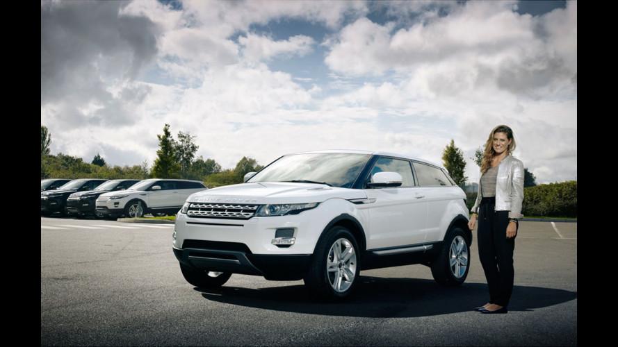 4 Range Rover Evoque a 4 ambasciatori italiani