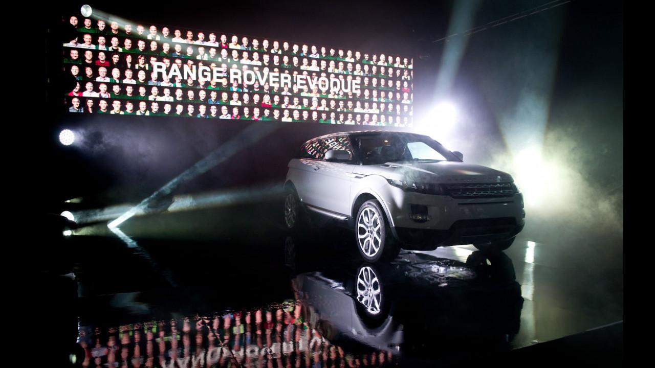 Range Rover Evoque - Iniziata la produzione
