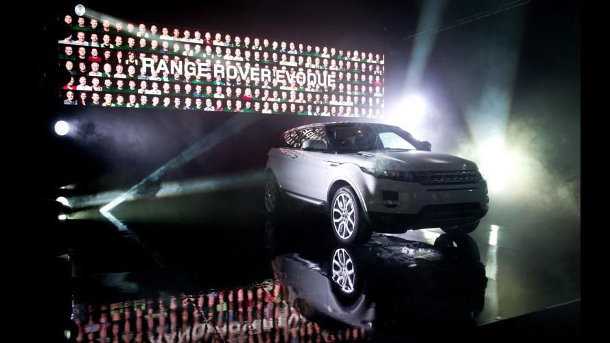 Range Rover Evoque, via alla produzione