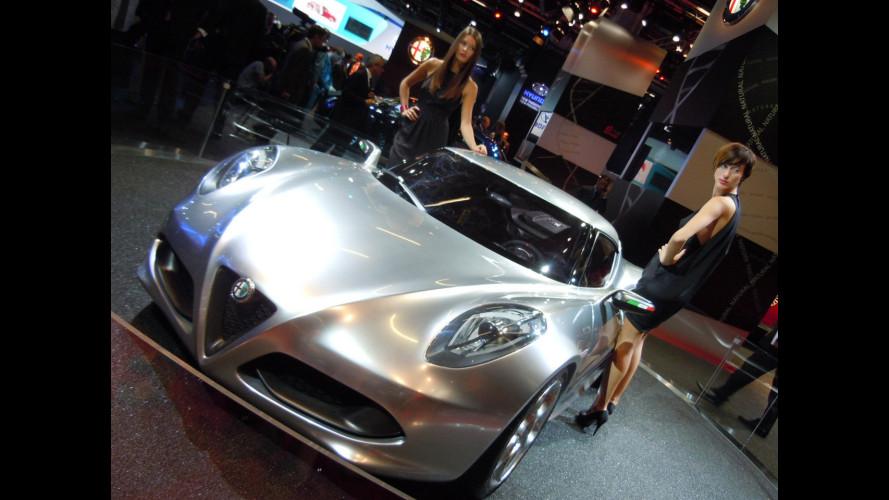 Alfa Romeo 4C, un'italiana e due tedesche...