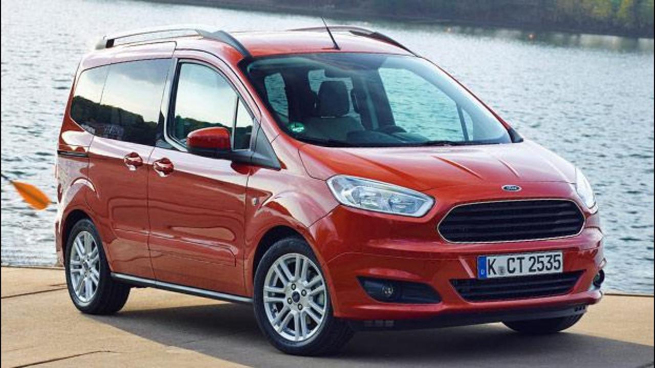 [Copertina] - Nuovo Ford Tourneo Courier, non chiamatelo multispazio