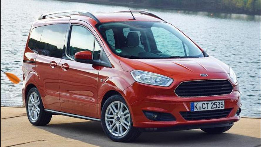 Nuovo Ford Tourneo Courier, non chiamatelo multispazio