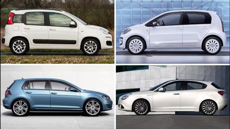 Faccia a faccia: ecco le auto che hanno venduto di più