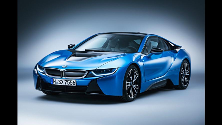 BMW i8, al top con il pacchetto Pure Impulse