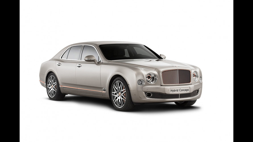 "Bentley Hybrid Concept, ai ""ricchi"" piace il rame"