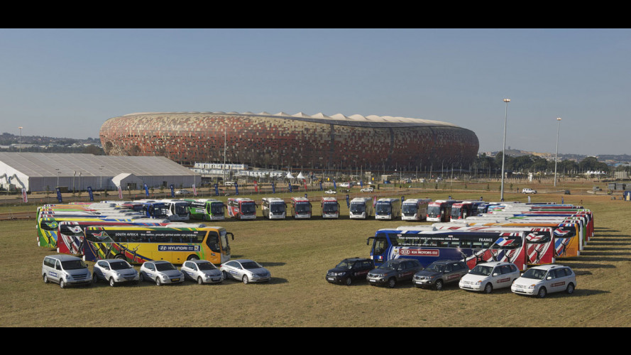 Hyundai scende in campo per i Mondiali