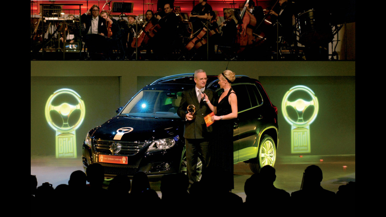Volante d'oro per Volkswagen Tiguan