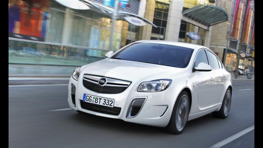 Una Opel Insignia per Asafa Powell