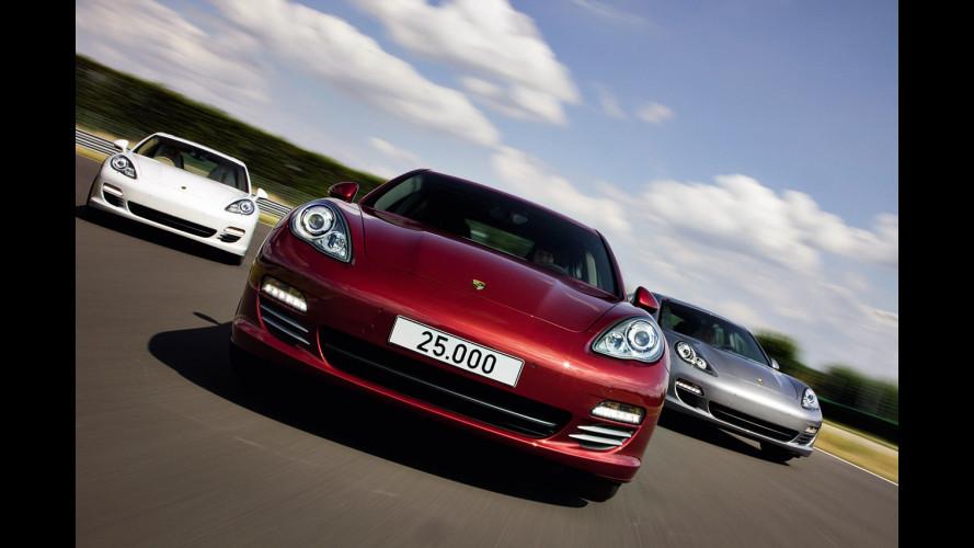 Prodotta a Lipsia la Porsche Panamera numero 25.000