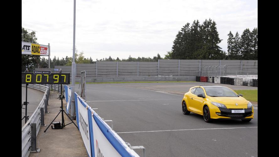 """Renault Megane RS Trophy: 8' 08"""" sul Ring"""