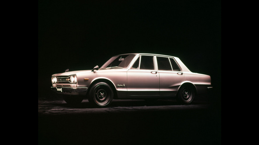 Nissan Skyline GT-R: la storia