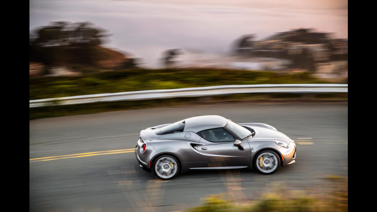 Alfa Romeo 4C negli USA