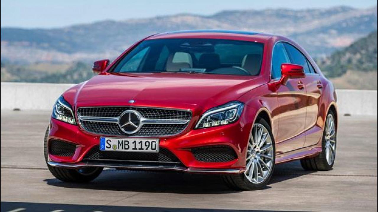 [Copertina] - Nuova Mercedes CLS, la coupé fatta berlina (e SW) cambia volto
