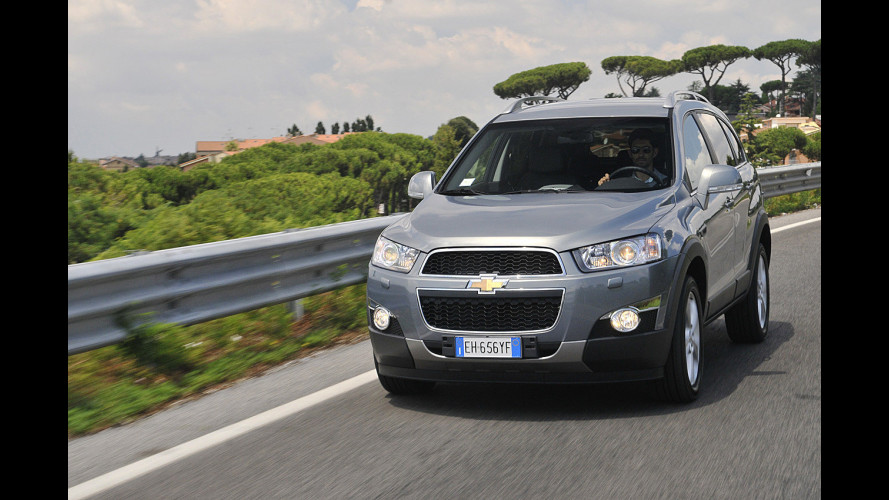 Chevrolet Captiva: con 184 CV è diventata grande