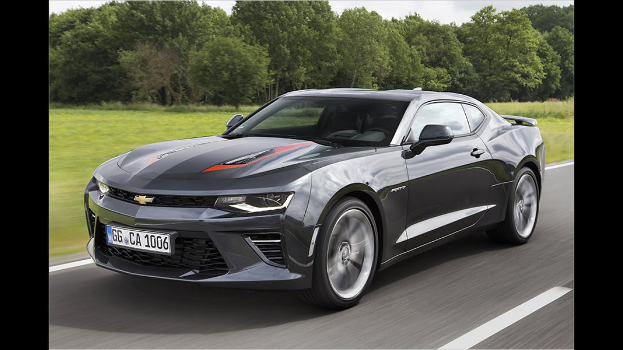 Der Mittelklasse-PS-Junkie: Chevrolet Camaro V8