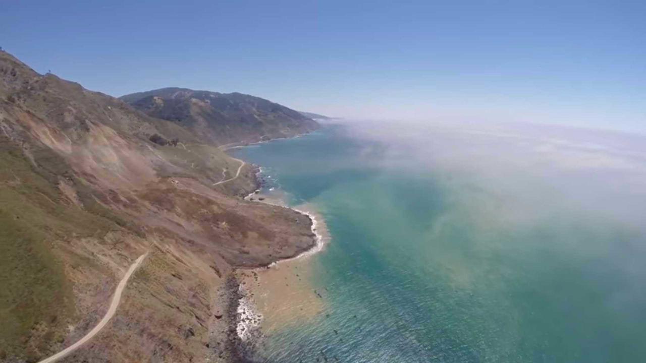 Pacific Coast Highway Landslide