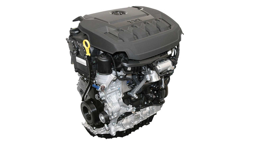 2018 VW Tiguan Engine