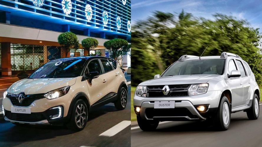 Renault Duster e Captur são vendidos com desconto de até 13 mil