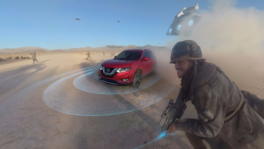 Nissan Rogue Stars In Downloadable Star Wars VR Experience