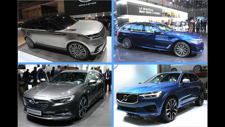 Die besten Neuheiten auf dem Genfer Autosalon 2017