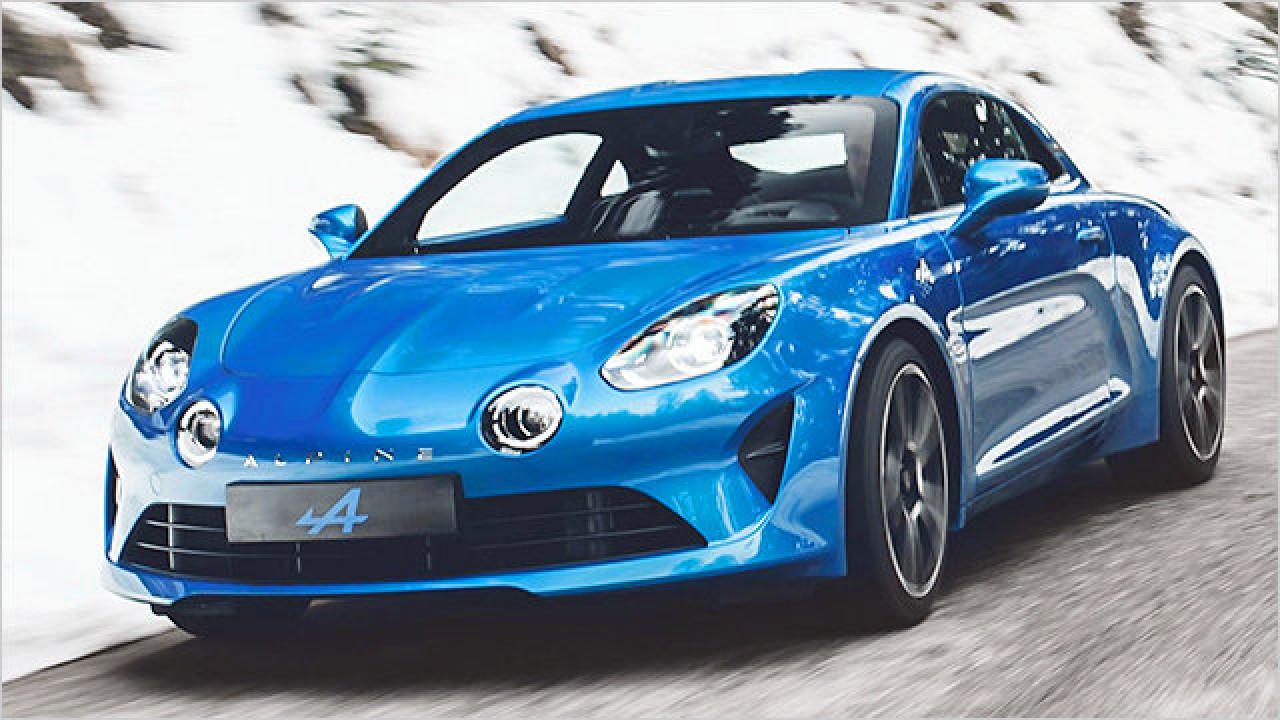 Die Alpine A110 im Video