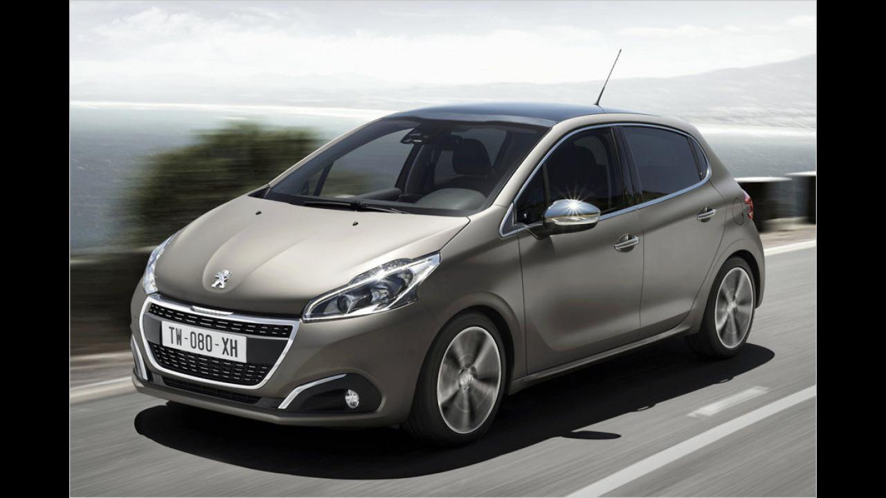 Platz acht: Peugeot 208
