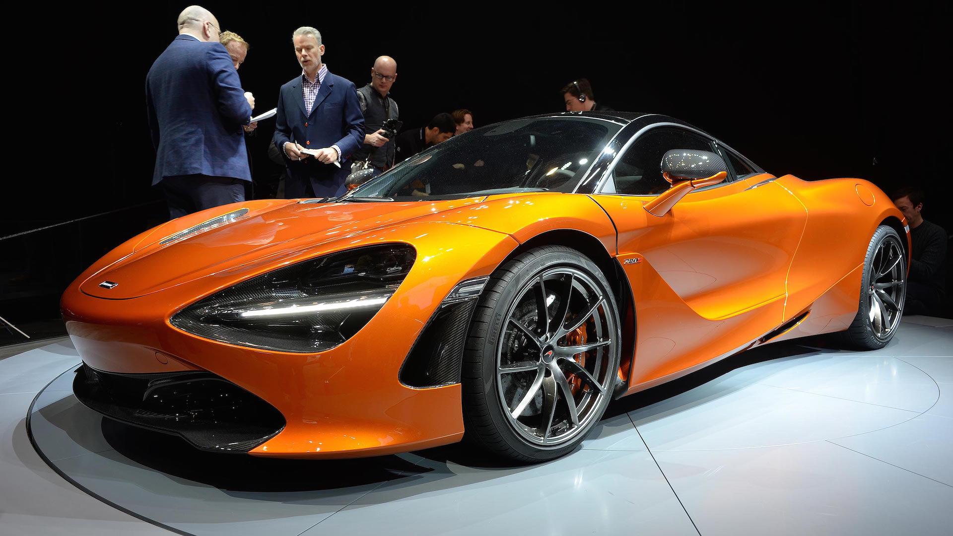 23ec6229bd63 McLaren 720S is all about aerodynamics and big horsepower