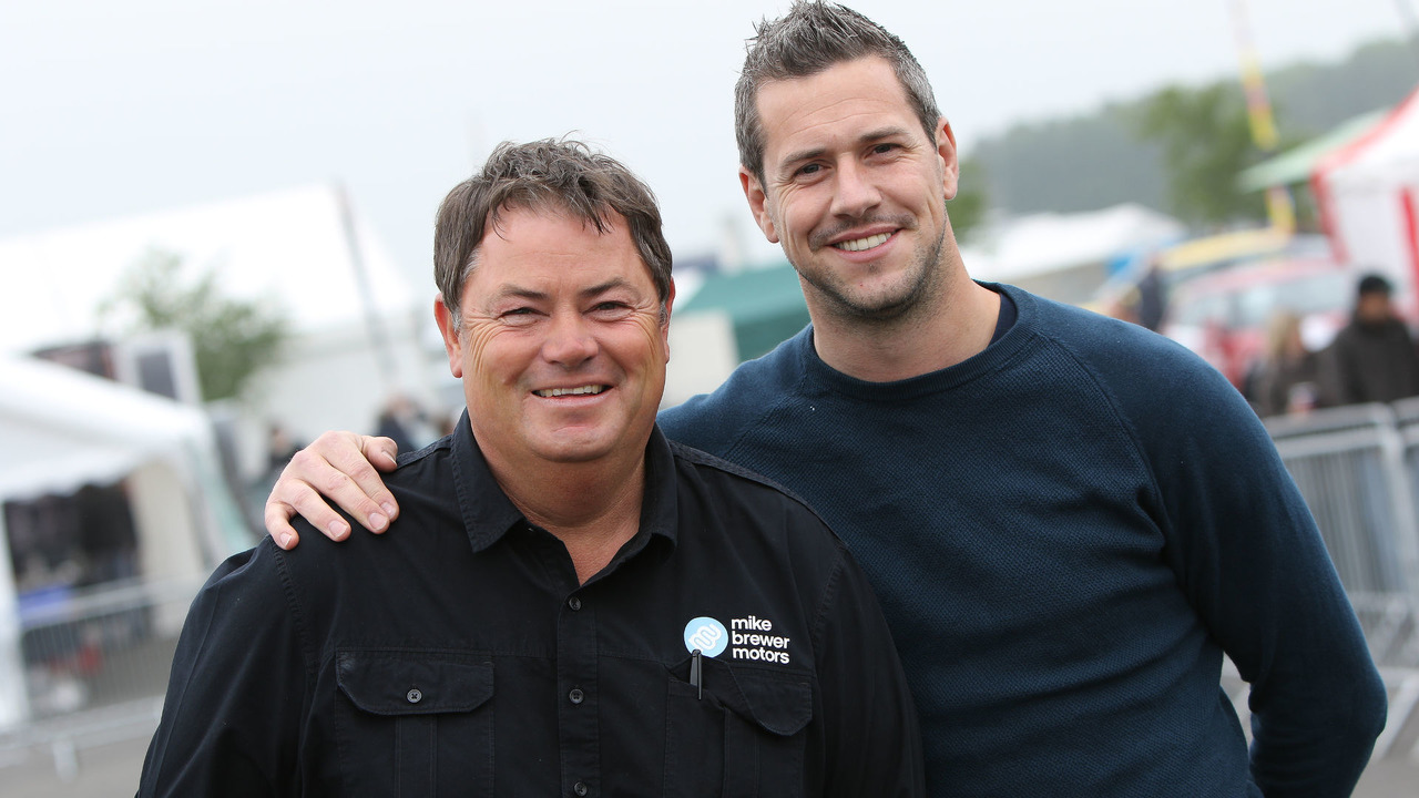 Mike Brewer and Ant Anstead Wheeler Dealers