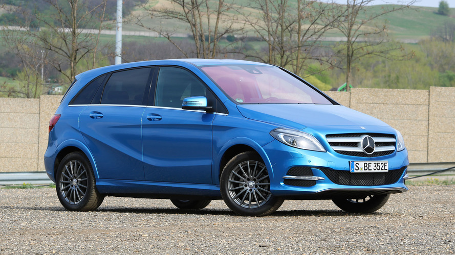 2017 Mercedes-Benz B250e Review: The Mercedes Of EVs