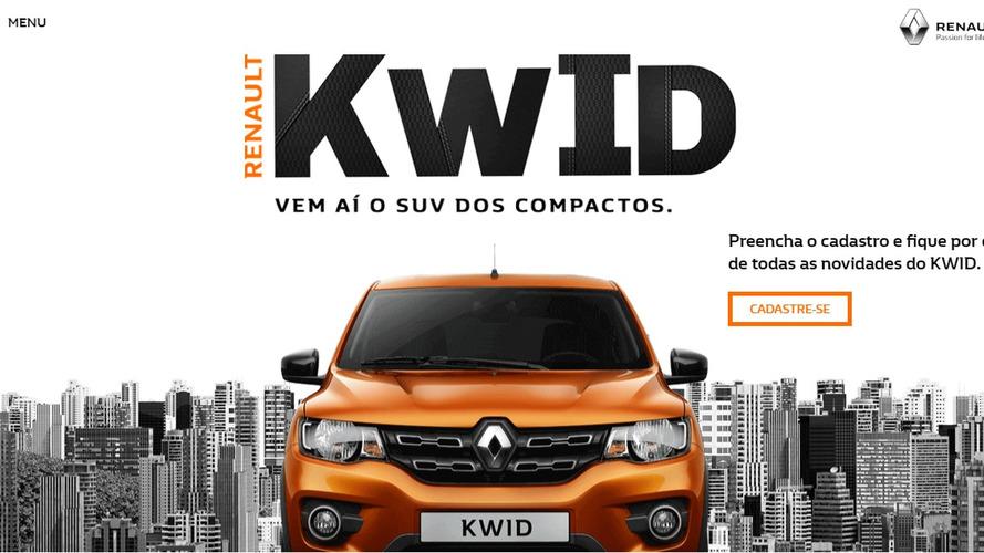 Versão intermediária do novo Renault Kwid custará R$ 32.990