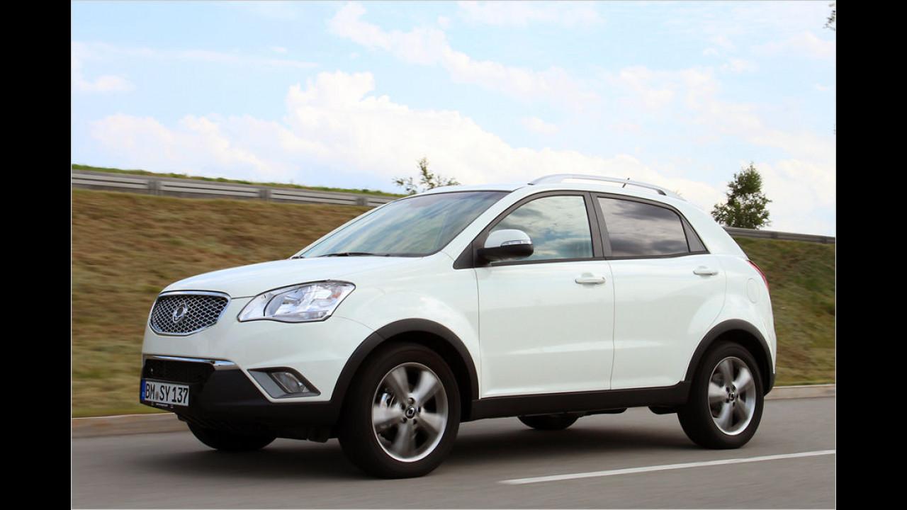 Platz 9: SsangYong Korando 2.2 Diesel 2WD (ab 20.990 Euro)