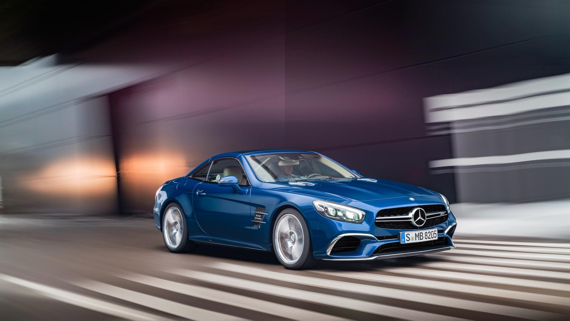 Mercedes-AMG Confirms New SL Will Replace GT Roadster