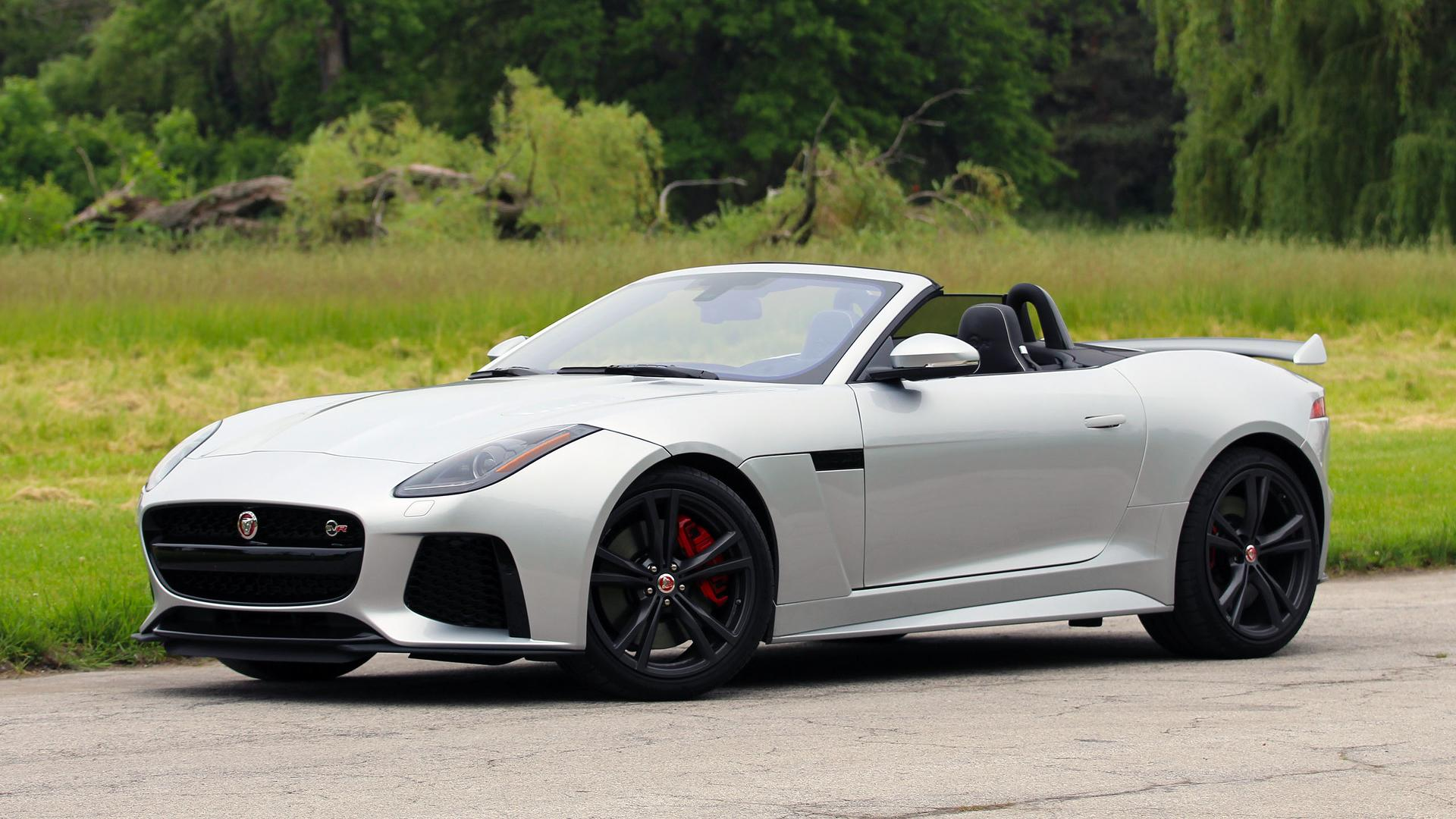 Jaguar F Type Convertible >> 2017 Jaguar F Type Svr Convertible Review Why It S Better