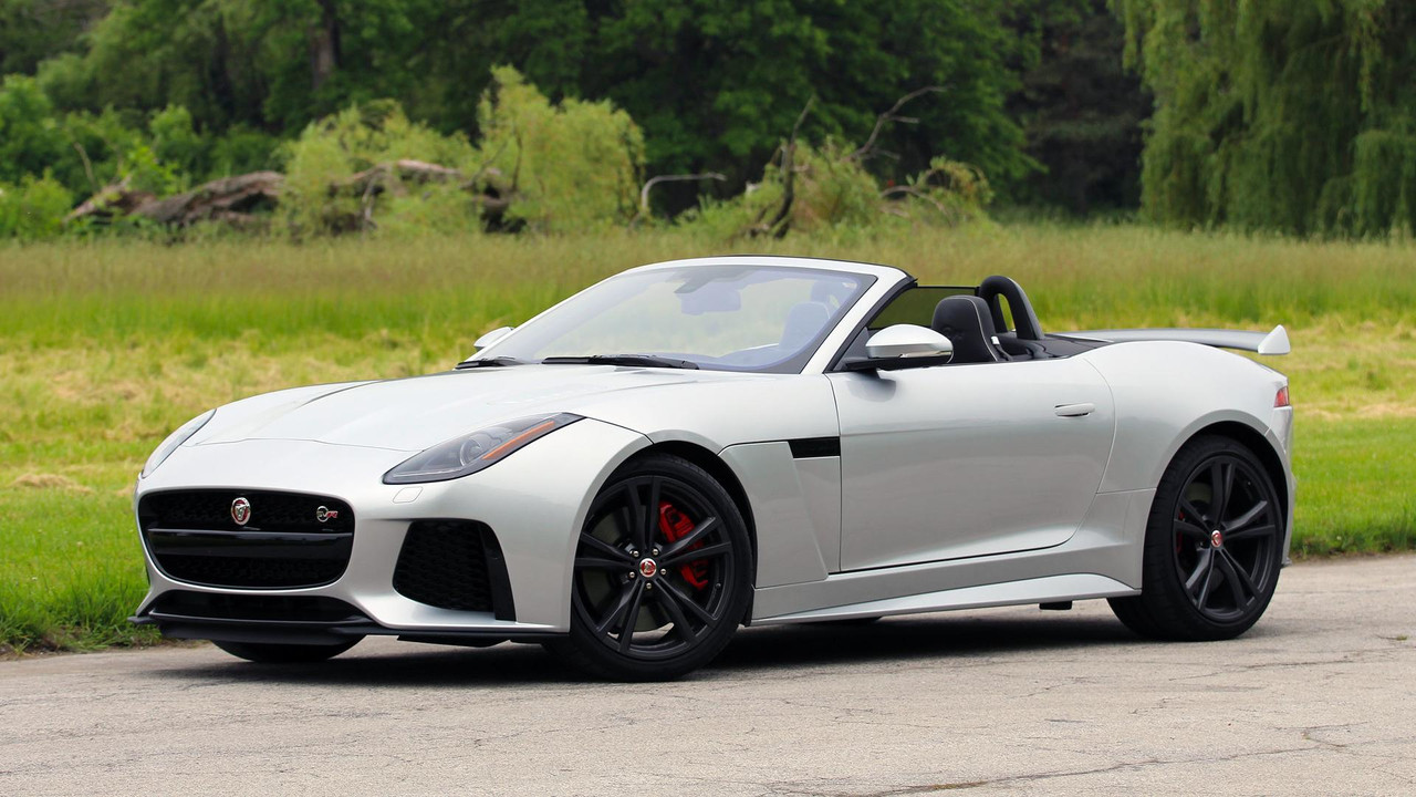 Delightful 2017 Jaguar F Type SVR Convertible: Review