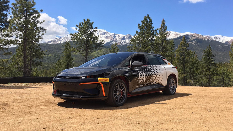 Faraday Future FF 91 reine du Pikes Peak ?