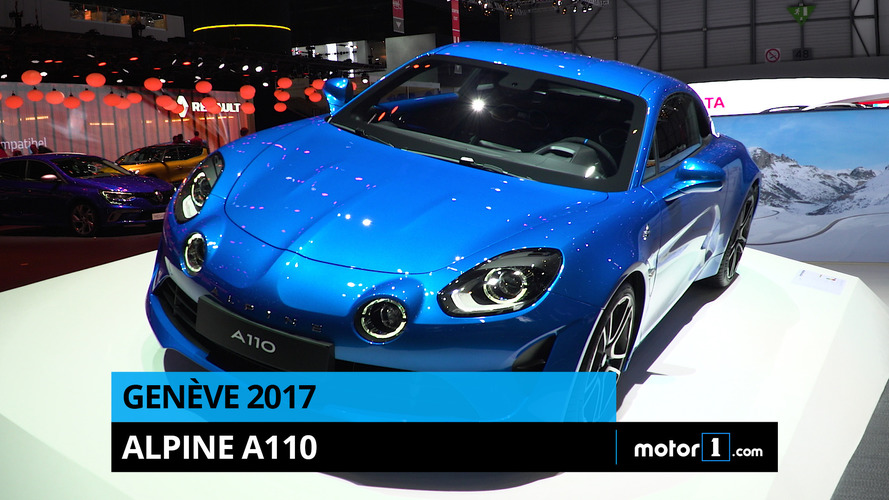 VIDÉO - L'Alpine A110 en direct de Genève !