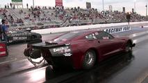 4000 lóerős Corvette dragster