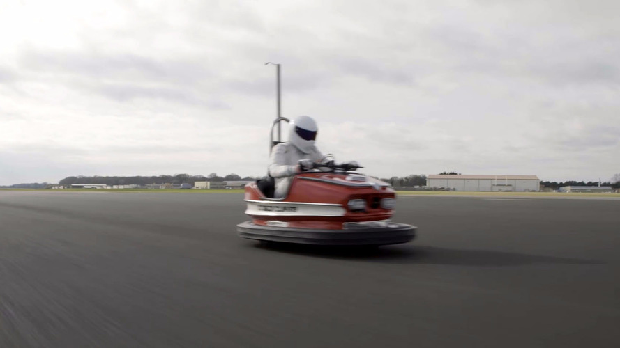 The Stig goes 100 mph in a bumper car, sets new world record