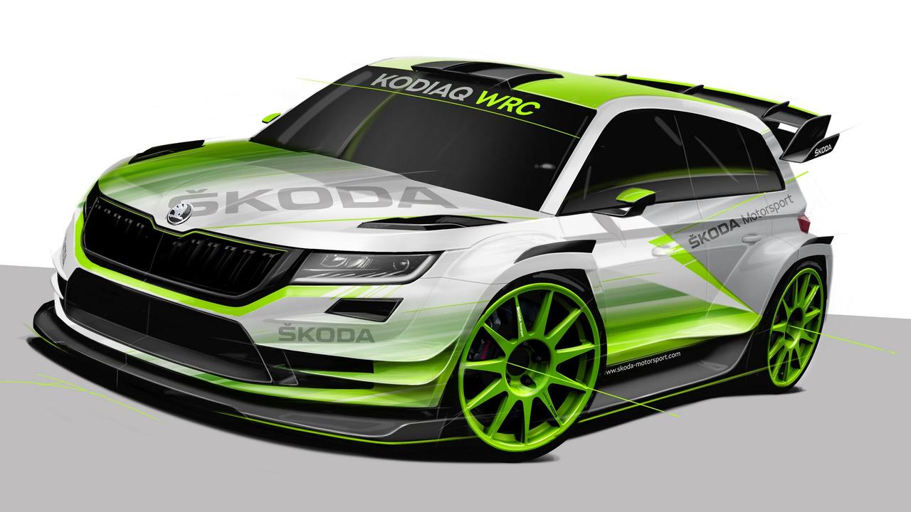 2018 Skoda Kodiaq WRC