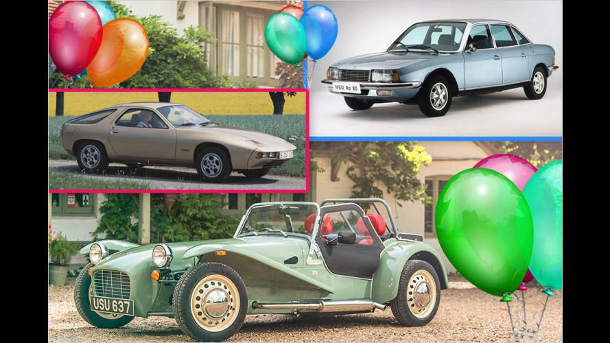 Die Auto-Geburtstage 2017