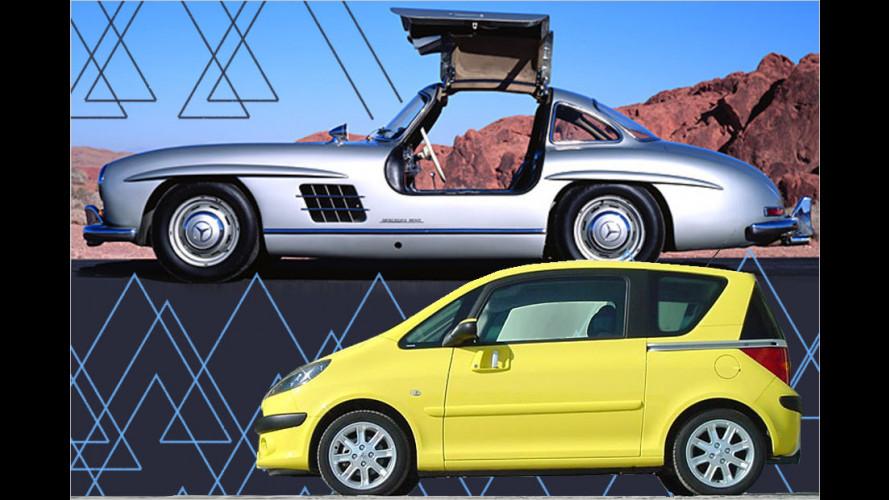 Verleiht Flügel: Autos mit kuriosen Türen