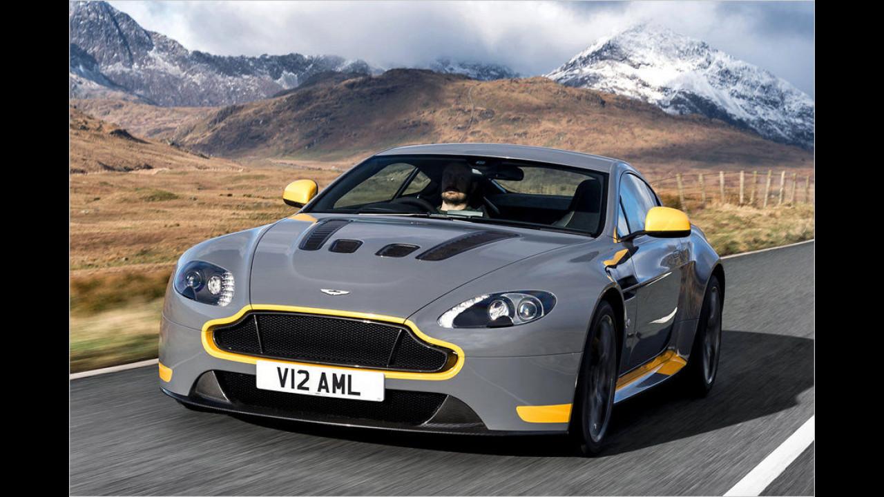 Platz 8: Aston Martin V12 Vantage S