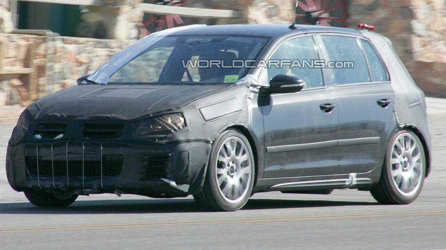 Volkswagen Golf GTI Prototype Spied