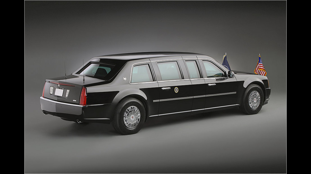 Barack Obama: Cadillac ,The Beast