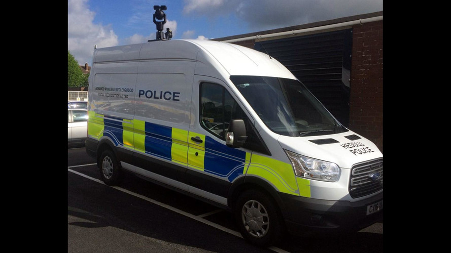 Man Arrested Via Facial Recognition Van